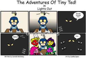 The Adventures of Tiny Ted #2 by CuddlyCapes