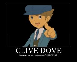 Clive Dove by ClivexFlora