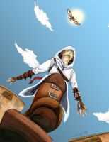 Leap Of Faith Assassins Creed by CrossedDHEarTS