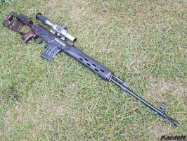 Dragunov SVD Sniper Rifle 6 by Garr1971