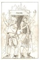 Bill and Ted by J-WRIG