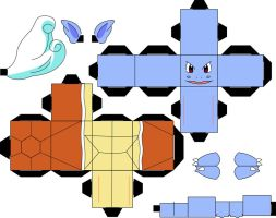 Pokemon 008 - Wartortle by straffehond