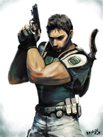 Chris Redfield_RE5 by keishajl