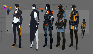 Domino's new suit sketches by Tarakanovich