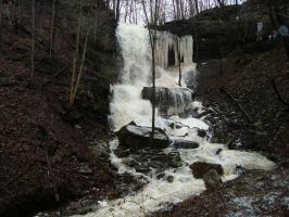 More Thawing Falls by Gr8-Gatensby