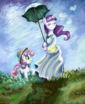 Mare with Parasol by RK-d