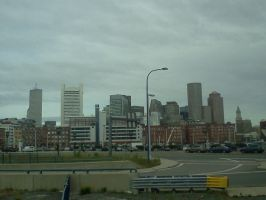 Boston Trip - Bus View by Spooneh21