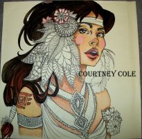 Courtney Cole by FrenchHumorist