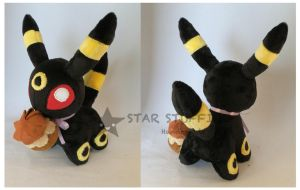 Umbreon Pokepuff by StarMassacre