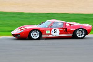 Ford GT40 No 9 by Willie-J
