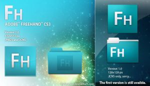 Adobe Freehand CS3 icon by LeoNico