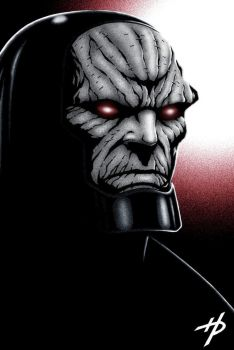 I Am Darkness, I Am Darkseid by Hal-2012