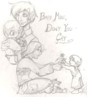 Sirius and Remus - Baby Mine by Miskantle