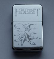 THE HOBBIT - engraved lighter by Piciuu