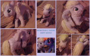 Talking animatronic Derpy plush by Busoni