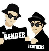 these brothers got the blues by gluey-MACERONI