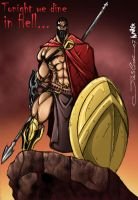 LEONIDAS_COLORS BY kumiker by vandalocomics