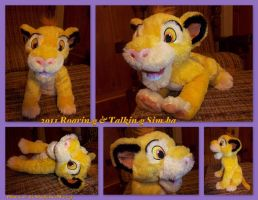 2011 Roaring And Talking Simba by DoloAndElectrik