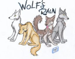 Wolf's Rain...Wolfies XD by Wolf-Spirit14