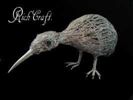 little Kiwi sculpture2 by braindeadmystuff