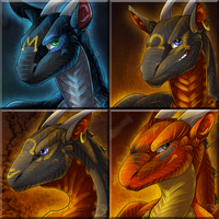 Icon Comish Lot - Brothers in Style by TwilightSaint
