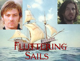 Fluttering Sails Cover Art by AragornofRedwall