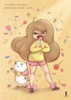 Bee and puppycat by weiliwonka