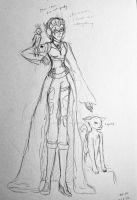 Human Form (Sonia/Sonic) WIP by DJSonicwave