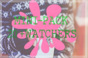 Mini-Pack 20 Watchers by UptownFunkEditions