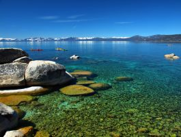 Clear waters by MartinGollery
