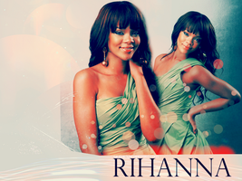 Rihanna wallpaper 6 by silene7