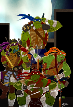TMNT by R-Blackout