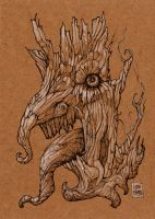 Insanity Tree Evil by zyphryus