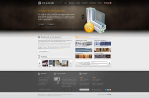 Casalmi Construction layout by justpixelweb