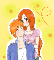 IchiHime by llMajlull