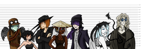 The usual suspects by Thilath