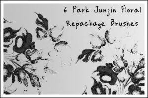 Park Junjin Floral Brushes by Ha-nee