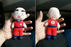Krillin Plushie by CuteGio