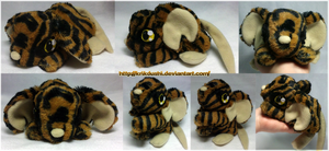 Transformice. Tigermouse Plush by krikdushi