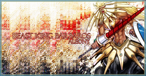 Beast King Barbaros Sig by aleony