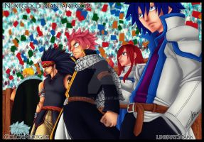 Fairy Tail Fantasy Team by NextGfx