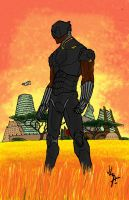 KING OF WAKANDA by JLZ74