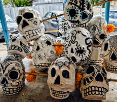 Calavera Pile by whitehotphoenix