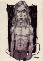 Iggy Pop by DenisM79