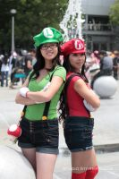 The Mario...Sisters? by Stormfalcon