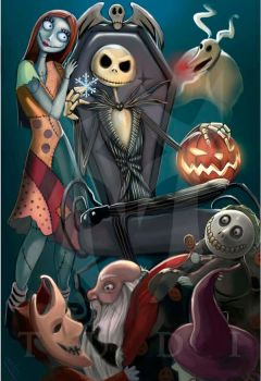 Nightmare Before Christmas by WikkidStudio