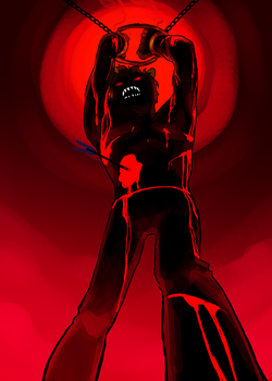 showdown - sufferer 2 by Doodle-Master
