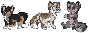 Canine Adoptables :CLOSED: by Okami-Heart