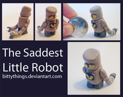 The Saddest Little Robot - SOLD by Bittythings