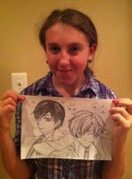 Ouran Birthday for Katie by TheRealTDAGeena